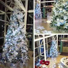 Silver Christmas Trees For Hire Our Can Be Hired In The UK Winter Wonderland