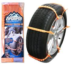 Amazon.com: Zip Grip Go Cleated Tire Traction Snow Ice Mud - Car SUV ...