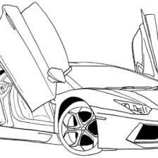Awesome Sport Car Coloring Book On Cars Pages