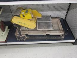Qep Wet Tile Saw Model 60010 by Qep Model 60010 Espotted