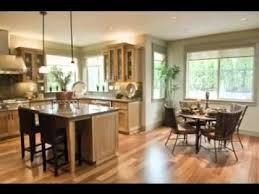 Open Plan Kitchen Living Room Ideas Unique Youtube