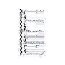 Print Rediform Memo Style Phone Message Book