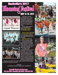 Spring Hope Pumpkin Festival Schedule by Nashville Nc Blooming Festival Will Kick Off With Arts Event The