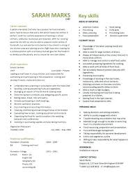 Chef Resume 3 Cook Summary Examples Sample