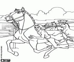 Little Creek With The Horses A Surprise For Colt Spirit Coloring Page