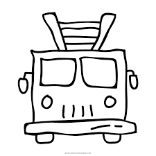 Fire Truck Coloring Page - Ultra Coloring Pages