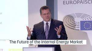 100 Sefcovic On The Future Of The European Internal Energy Market YouTube