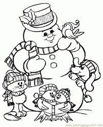 Coloring Pages For Free Christmas Pertaining To Print
