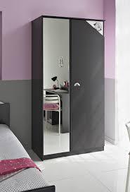 feng shui miroir chambre armoire enfant contemporaine portes gris ombre pop miroir