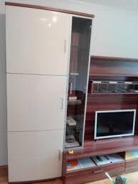 wohnzimmer schrankwand wohnwand hochwertig hochglanz porta