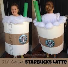 DIY Costume Starbucks Latte