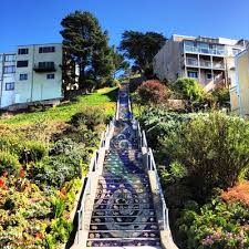 16th Avenue Tiled Steps Project by San Francisco Bay
