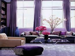 Grey And Purple Living Room Wallpaper by Excellent Purple Living Room Decor Picture Lollagram Ideas Rooms