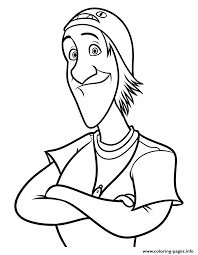 Big Hero 6 Movie Fred Coloring Pages Print Download