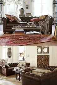 Pottery Barn Irving Chair Recliner by The 25 Best Pottery Barn Leather Sofa Ideas On Pinterest Brown