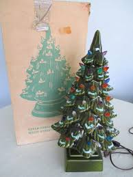 Dillards Christmas Tree Farm by Christmas Vintage White Ceramic Christmas Tree 05088240 Zi White