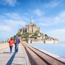 the bay of mont michel