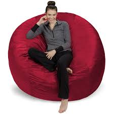 Sofa Sack - Plush Ultra Soft Bean Bags Chairs For Kids, Teens, Adults -  Memory Foam Beanless Bag Chair With Microsuede Cover - Foam Filled  Furniture ... Top 10 Bean Bag Chairs Of 2019 Video Review Attractive Young Woman Lying On Red Square Shaped Beanbag Sofa Slab Red 3 Sizes Candy Chair Us 2242 41 Offlevmoon Medium Camouflage Beanbags Kids Bed For Sleeping Portable Folding Child Seat Sofa Zac Without The Fillerin Real Leather Modern Style Futon Couch Sleeper Lounge Sleep Dorm Hotel Beans Velvet Plain Collection Yogibo Family Fun Fniture 17 Best To Consider For Your Living