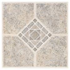 tile ideas nexus black white 12x12 self adhesive vinyl floor