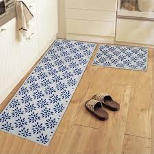 carpette de cuisine tapis de cuisine en coton maison image idée