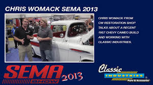 100 Classic Industries Truck Chris Womack SEMA 2013 YouTube