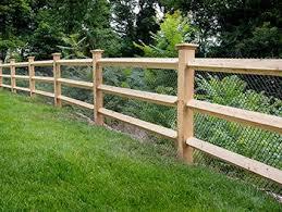 Southington Rustic Fence