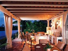Covered Patio Bar Ideas by Outdoor Kitchen Island Grills Pictures U0026 Ideas From Hgtv Hgtv