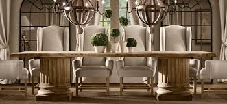 dining room restoration hardwareable dohatour decorative chairs