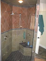 tile showers without doors ideas bathroom beautiful picture of