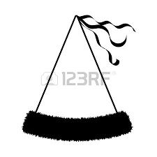 Birthday hat icon on white background illustration Illustration