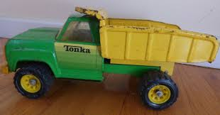 VINTAGE TONKA PICKUP Truck - Green And Yellow - $11.98 | PicClick