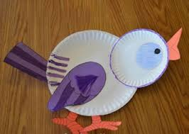 Paper Plate Bird Craft Funnycrafts