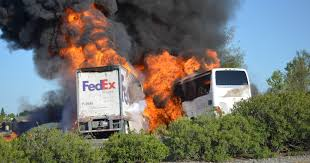 NTSB: FedEx Truck Didn't Brake, Wasn't On Fire Before Bus Crash One Year Later Deadly California Bus Crash Nbc Southern 1 Killed After Car And Fedex Truck In Otay Mesa Times Of Traffic Moving Again Along I81 Inrstate 5 Witnses On Fire Before Hitting Train Smashes Into Truck Lucky Escape For Driver Youtube Dead Crash I5 The Sacramento Bee Slow I481 Sthbound As Candy Is Unloaded From Outofcontrol Semi Causes Another Deadly I75 News Norcal Bus Family Ismael Jimenez Files Lawsuit Abc7com Dead Collides With Familys Sr905 Fed Ex Wreck