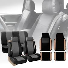 Gray Black Integrated Seatbelt Truck Van Seat Covers Beige Leather ... Pin By Pradeep Kalaryil On Leather Seat Covers Pinterest Cars Best Seat Covers For 2015 Ram 1500 Truck Cheap Price Products Ayyan Shahid Textile Pic Auto Car Full Set Pu Suede Fabric Airbag Kits Dodge Ram Amazon Com Smittybilt 5661301 Gear Fia Vehicle Protection Dms Outfitters Custom Camo Sheepskin Pet Upholstery Faux Cover For Kia Soul Red With Steering Wheel Auto Interiors Seats Katzkin September 2014 Recaro Automotive Club Black Diamond Front Masque