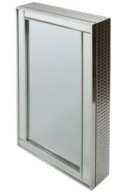 casa padrino luxus schmuckschrank silber 40 x 9 x h 80 cm spiegelschrank mit verspiegelter schiebetür barockgroßhandel de