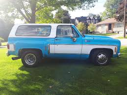 100 Blazer Truck 1975 Chevy Naz P LMC Life