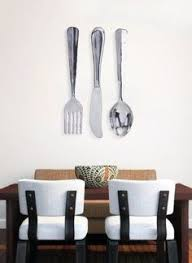 Wood Fork And Spoon Wall Hanging by On Sale Fork And Spoon Wall Decor Large Wood Fork And Spoon Wall