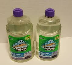 100 Spa 34 TWO 2 Scrubbing Bubbles Shower Automatic Refill Glade Refreshing
