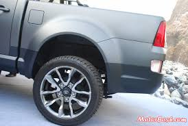 Tata-Xenon-Tuff-Truck-Pics-low-profile-tyres - MotorBash.com Iron Cross Automotive Hd Low Profile Bumper Sharptruckcom Yokohama Tire Corp Ty517 Ultralow Wide Base Drive 18 Best Funky Monkey Custom Wheels Tires Images On Pinterest Why Do Manufacturers Not Make Raised White Letter For Lowered Super Duty Street Truck Put Fuel Rims With Lowprofile Sports Car Stock Photo 253541239 Krock W Rear Yuma Beadlock Gun Metalsilver 1 Pair Low Profile Tires Rentawheel Ntatire Page 9 225 All Steel Radial Tubeless Toolboxes 2 Pickup Nation July 2011