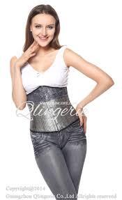 silver underbust corset n6219