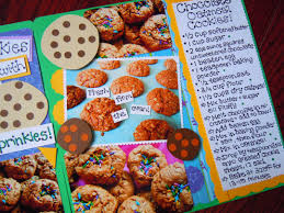 scrapbooking cuisine may is national scrapbooking month filling up the cookie jar