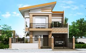 104 Housedesign Contemporary House Design With Four Bedrooms And Two Toilet And Baths Ulric Home