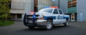 Police Truck Chevy Silverado SSV