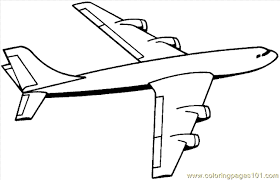 Airplane Coloring Pages Clipart Panda Free Images