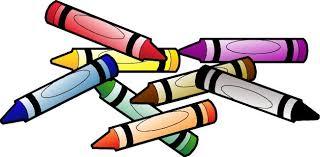 Crayon Clipart Coloring