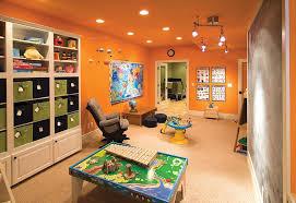 Interior Kids Room Basement Makeover Finished Interior Bar Under