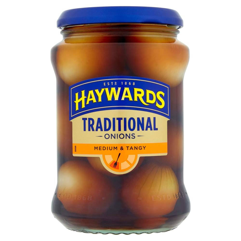 Haywards Traditional Onions - 400g