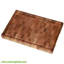 planche cuisine billot de cuisine en bois avec planche à découper couleur garden