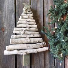 Rustic Wood Christmas Tree Handmade From Reclaimed