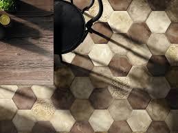 emperor hex from grestec tiles hexagon tile trend encaustic
